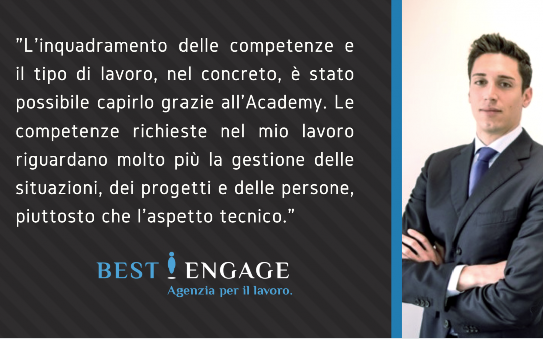 Intervista a Mattia Rubino – Ex studente Academy Best Engage