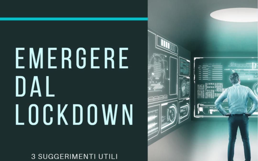 Emergere dal Lockdown
